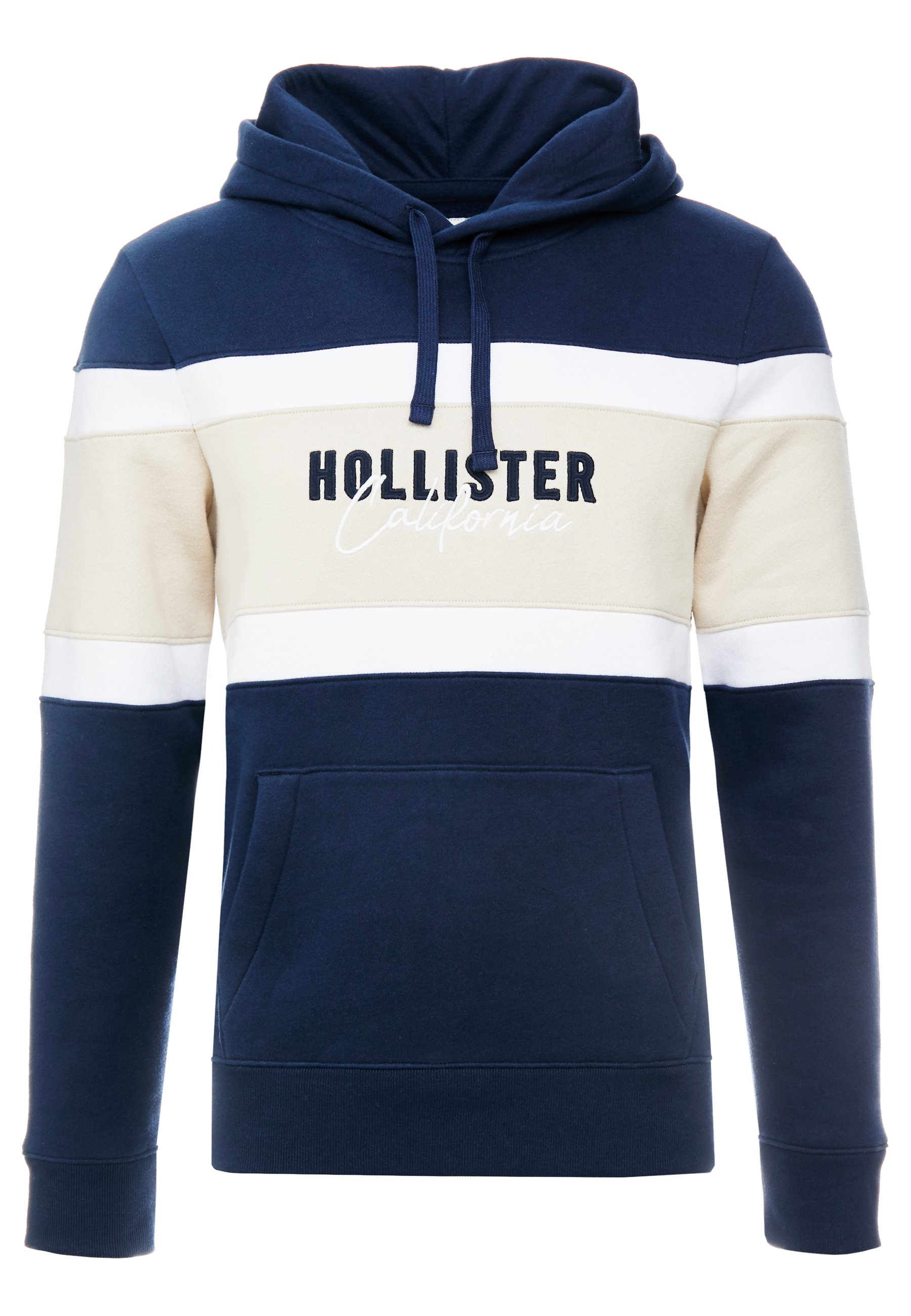 Hollister Co. ELEVATED TECH LOGO - Sweat à capuche - navy