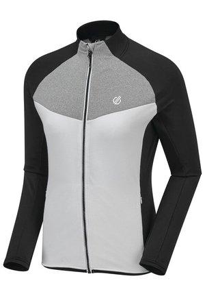 ALLEGIANCE - Fleece jacket - ebony/white