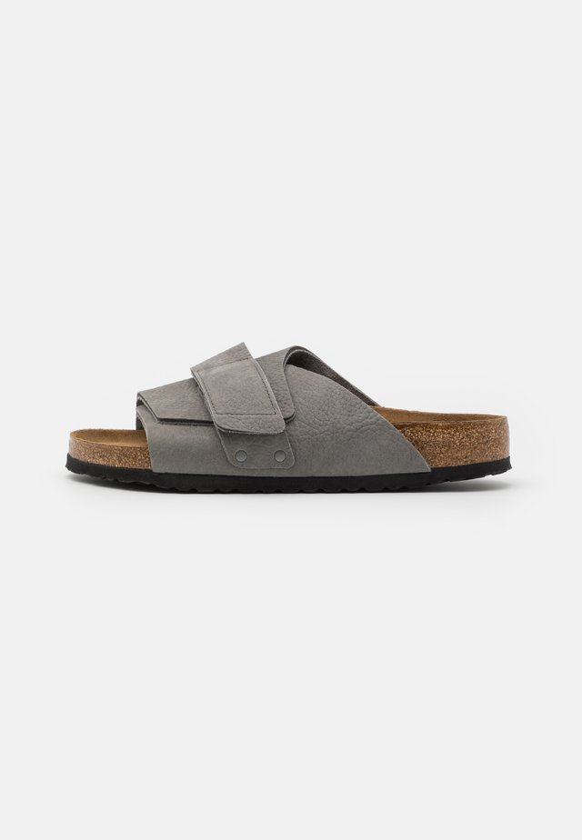 KYOTO SOFT FOOTBED - Pantofole - desert buck whale gray