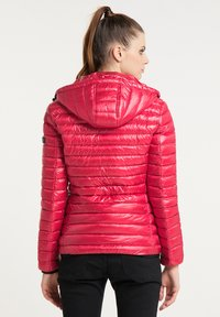Frieda & Freddies - DAUNENJACKE NELLY II MIT ABNEHMBARER KAPUZE - Down jacket - cherry red - 2
