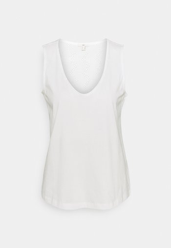 SWIS EMBRO - Top - off white
