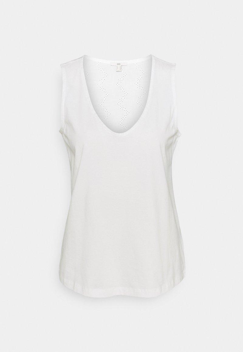 edc by Esprit - SWIS EMBRO - Top - off white