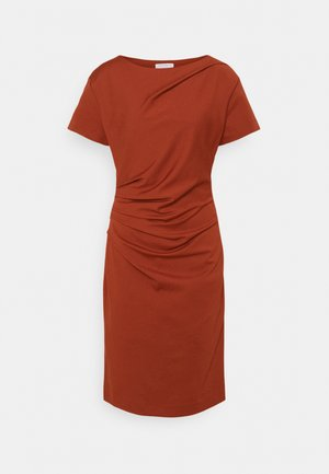 IZLO - Jersey dress - rust orange