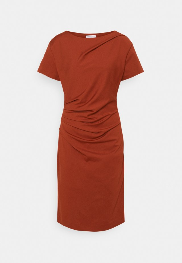 IZLO - Robe en jersey - rust orange