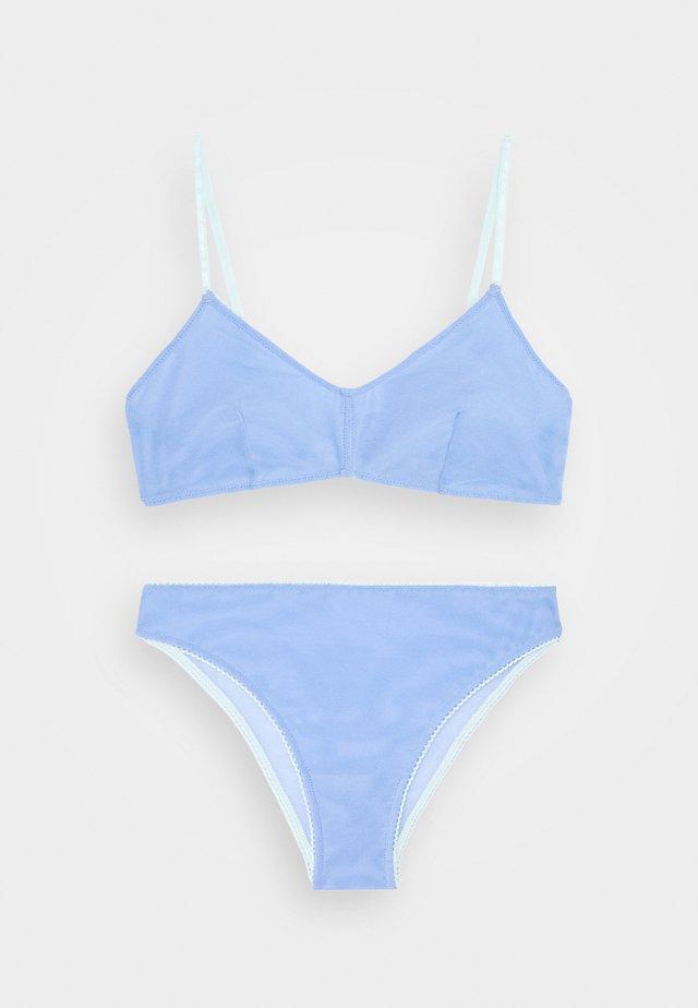 HOLLY BRALETTE BRASILIANO - Slip - cornflower lilac/aqua splash