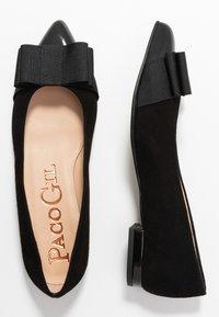 Paco Gil - PARKER - Ballet pumps - black - 3