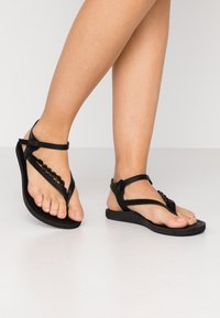 O'Neill - BATIDA COCO - T-bar sandals - black out - 0