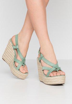 ROCIO - Sandály na vysokém podpatku - mint green