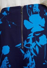 Ted Baker - A-line skirt - dark blue - 3