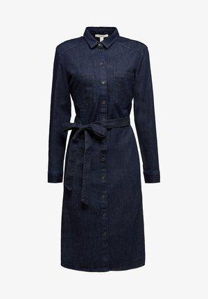 Shirt dress - blue dark washed
