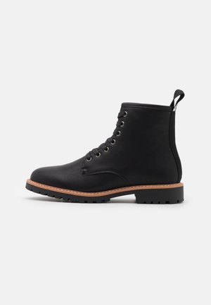 HEELER - Lace-up ankle boots - black