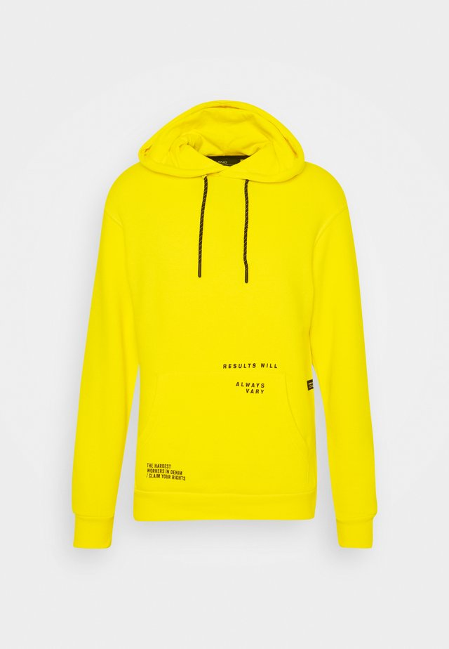 Sweat à capuche - empire yellow