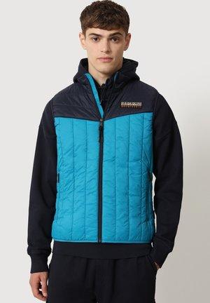 AROL - Waistcoat - tile blue