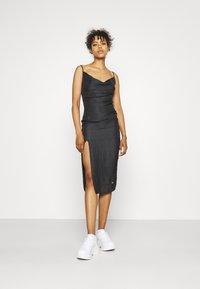 Sixth June - LEOPARD DRESS - Cocktail dress / Party dress - black - 1