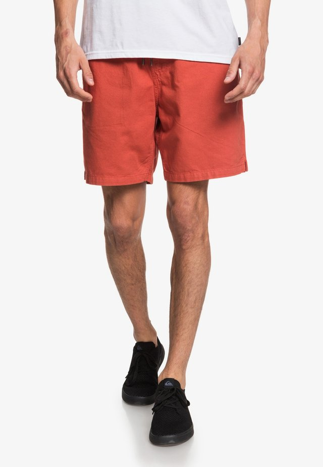 BRAIN WASHED 18 - Shorts - redwood