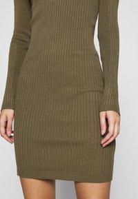 ONLY - ONLELLY ROLLNECK DRESS - Jumper dress - kalamata - 5
