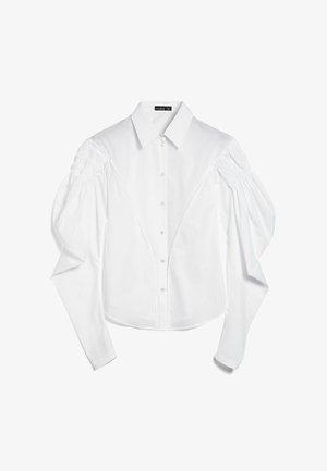 M-CRISSI - Button-down blouse - weiß