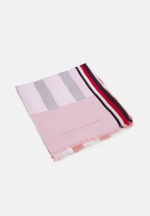 STRIPE MIX SCARF - Sjaal - pink