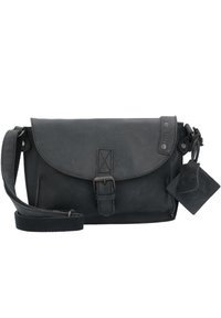 Greenburry - VINTAGE REVIVAL LEDER - Across body bag - black - 0