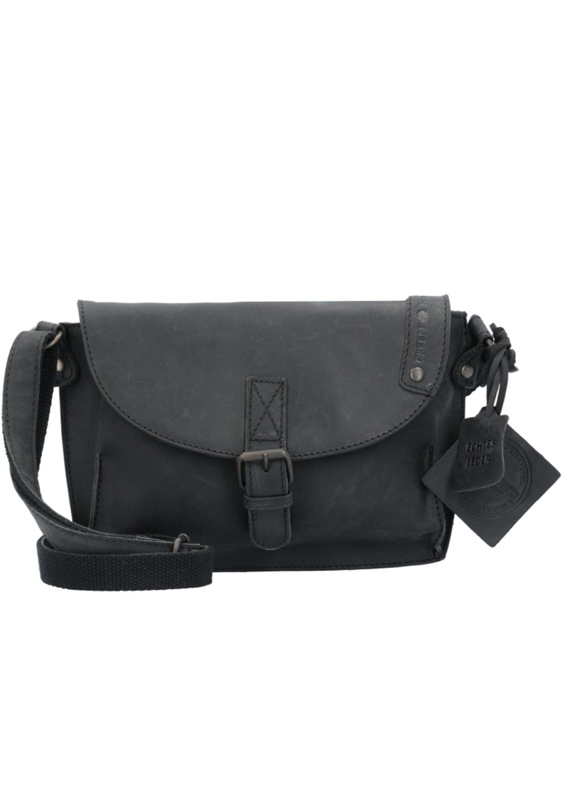 Greenburry - VINTAGE REVIVAL LEDER - Across body bag - black