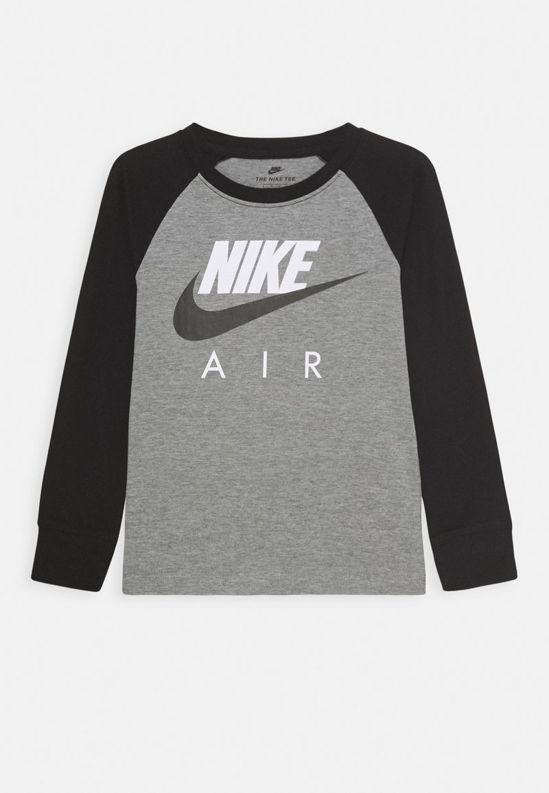 Nike Sportswear - AIR RAGLAN - Langærmede T-shirts - carbon heather/black