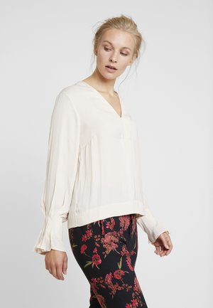 CLARA BLOUSE - Pusero - french nougat