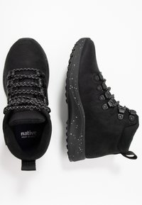 Native - APEX  - Lace-up ankle boots - jiffy black - 1