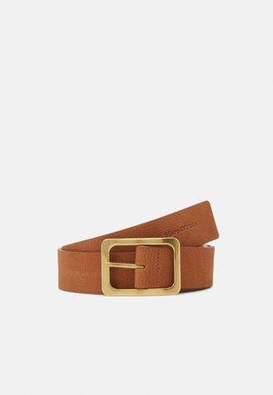 LEA NUBUCK - Belt - burnt camel