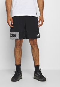 adidas Performance - AEROREADY TRAINING SHORTS - Sports shorts - black/white - 0