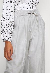 Topshop Petite - TONIC - Trousers - grey - 4