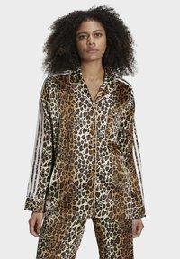 adidas Originals - LEOPARD - Button-down blouse - brown - 0