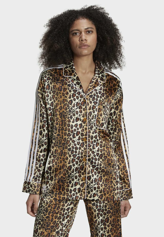 LEOPARD - Chemisier - brown