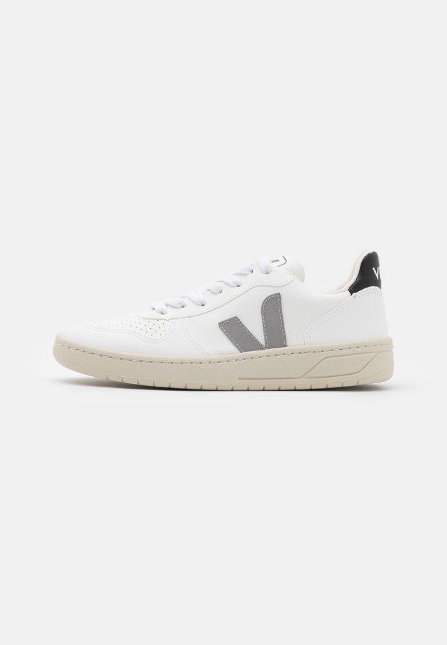 VEGAN V-10 - Sneakersy niskie - white/oxford grey/black
