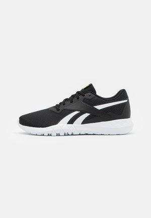 FLEXAGON ENERGY TR 3.0 MT - Zapatillas de entrenamiento - core black/footwear white/neon mint