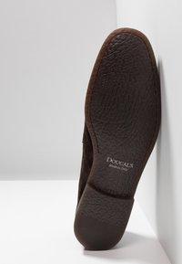 Doucal's - PENNY LOAFER - Elegantní nazouvací boty - testa di moro - 4
