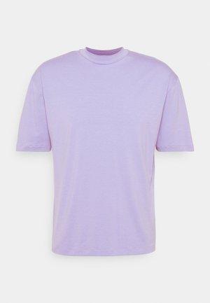 MOCK NECK RELAXED - T-shirt basic - light purple