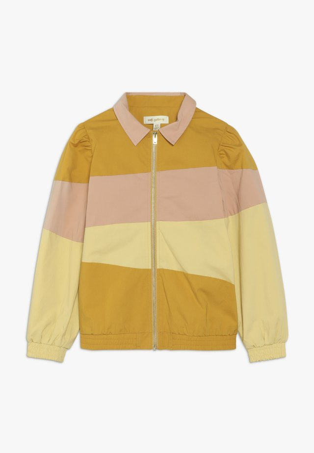 FIOLA JACKET - Bomber bunda - yellow/pink