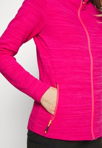 Campagnolo - WOMAN JACKET FIX HOOD - Fleece jacket - gloss melange - 5