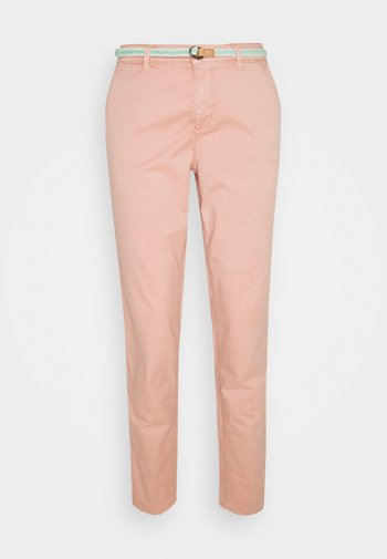 SLIM - Trousers - nude