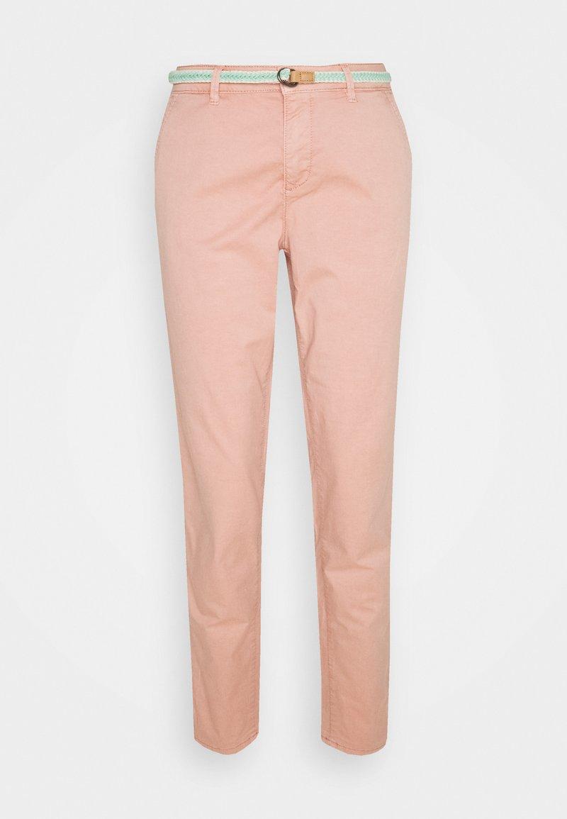 Esprit - SLIM - Trousers - nude