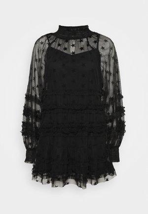 STAR MINI - Denní šaty - black
