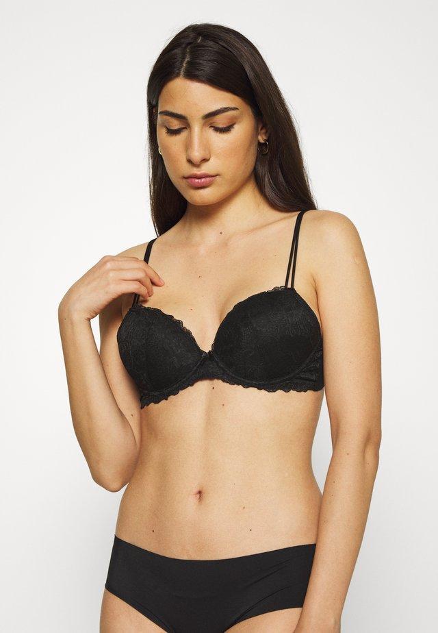 FANCY BRA - Push-up bra - black