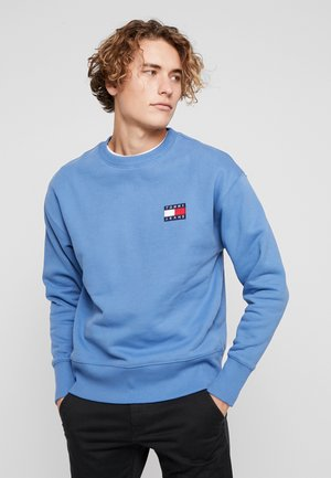 BADGE CREW UNISEX - Sweatshirt - dutch blue