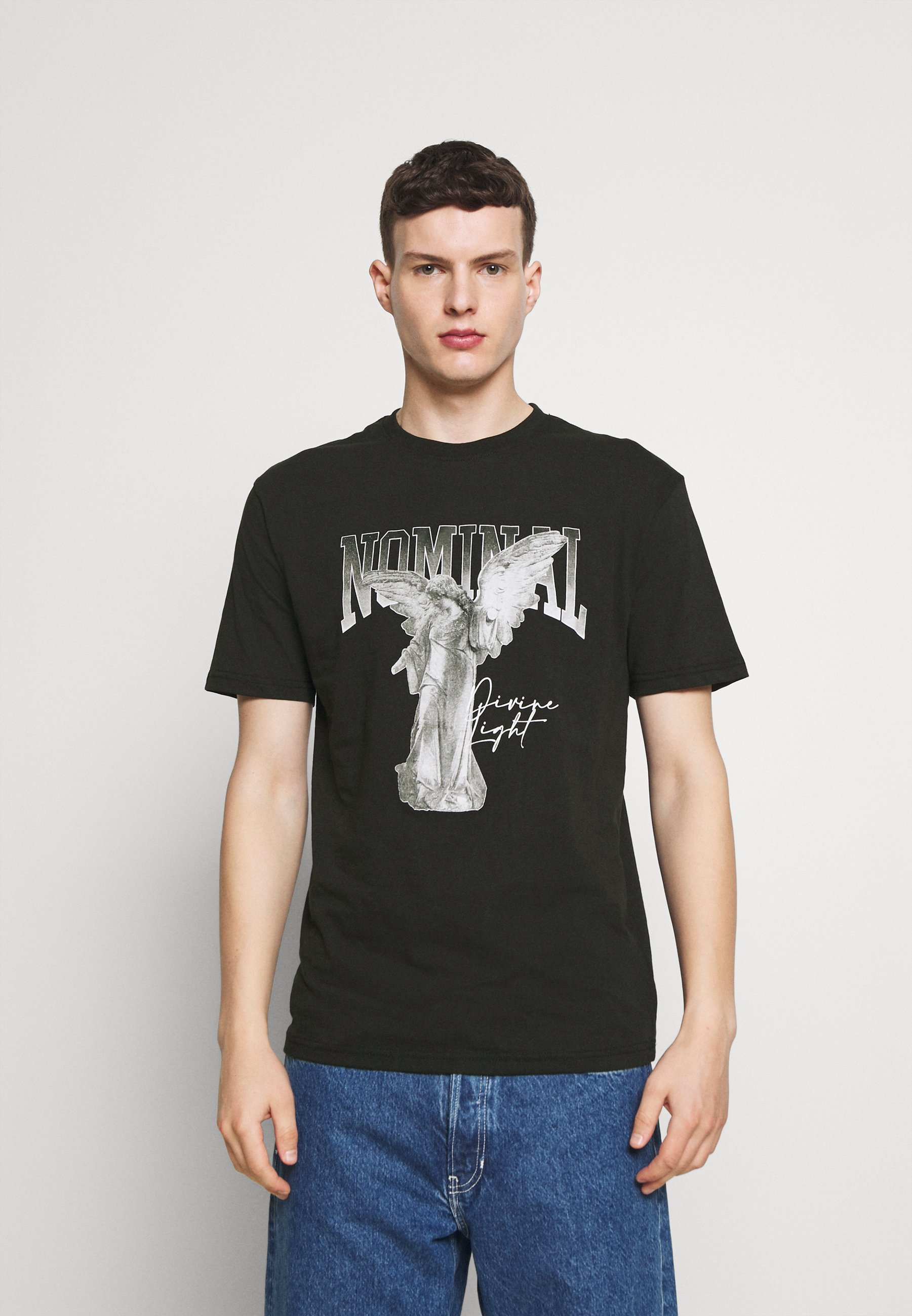 Men STATUE TEE - Print T-shirt