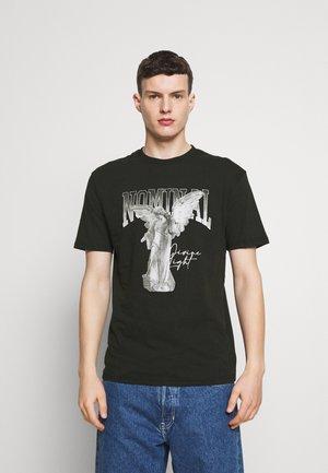 STATUE TEE - T-shirt print - black