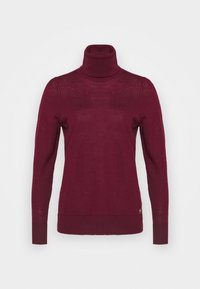 MICHAEL Michael Kors - TURTLE NECK - Jumper - dark ruby - 6