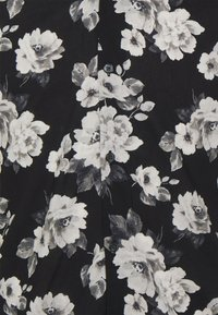 Abercrombie & Fitch - SUMMER RESORT - Shirt - black grounded large scale white - 2