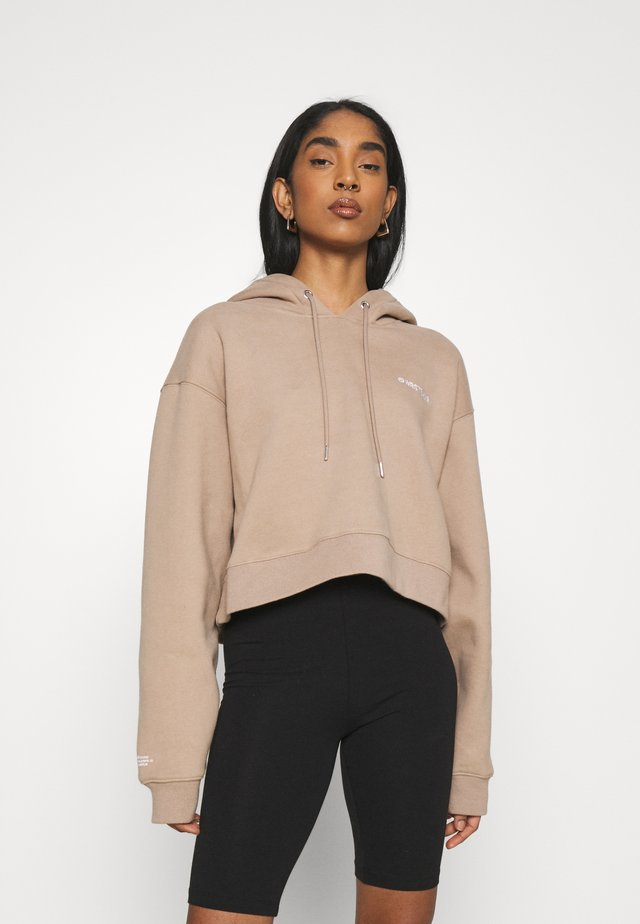 FAITH HOODIE - Collegepaita - roasted beige
