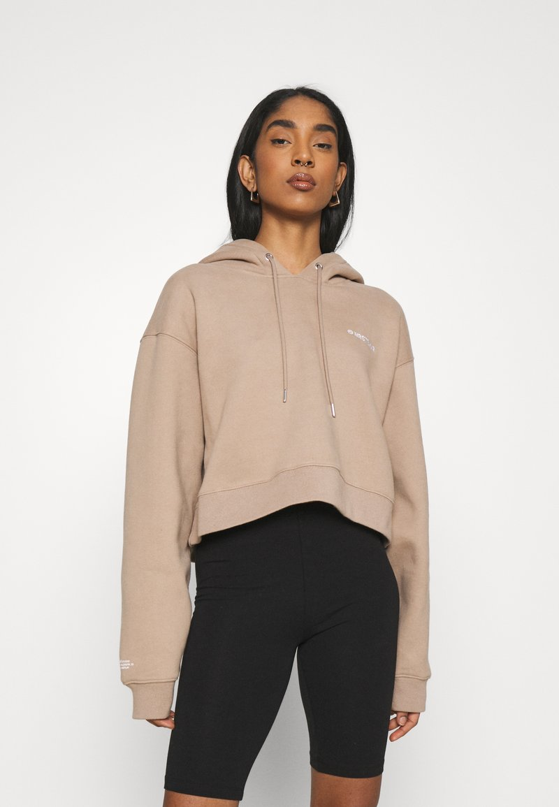 WRSTBHVR - FAITH HOODIE - Sweatshirt - roasted beige