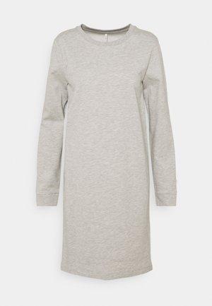 ONLDREAMER LIFE CREW NECK DRESS - Kjole - light grey melange